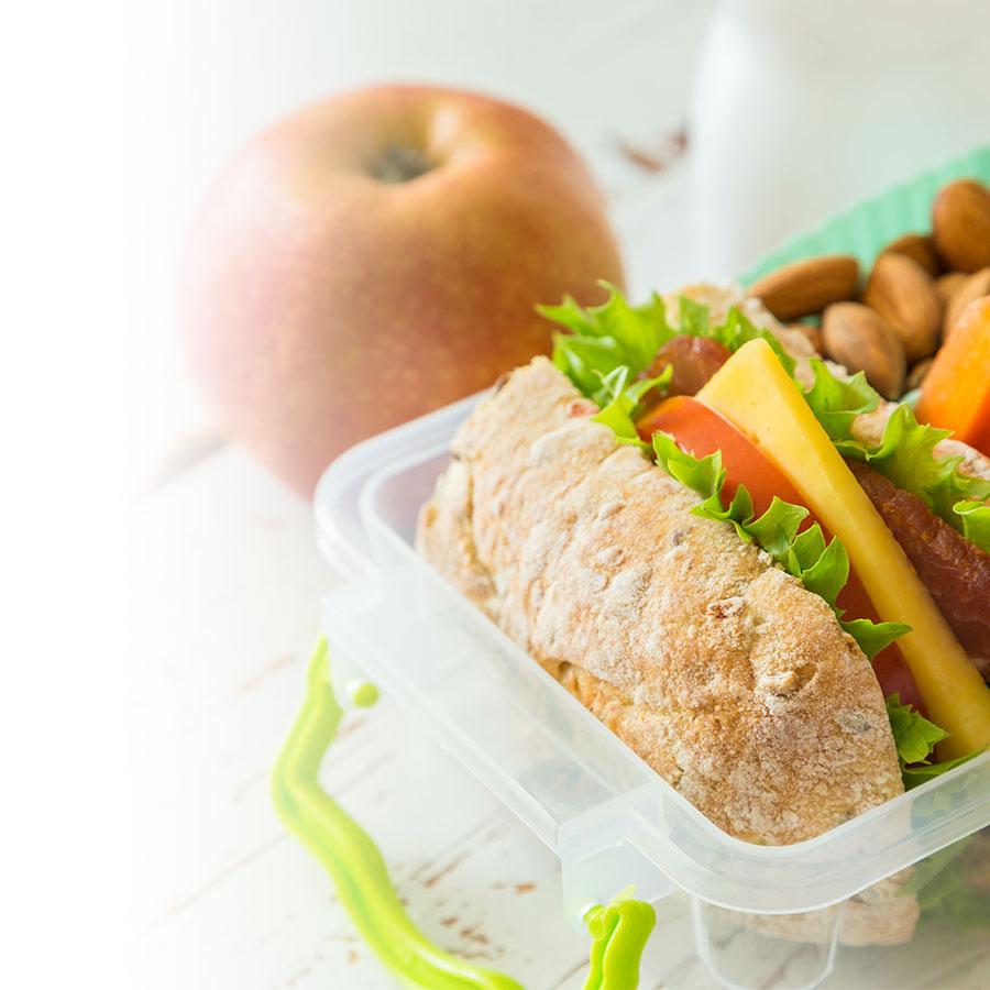 La boîte à lunch: pour une rentrée en santé!