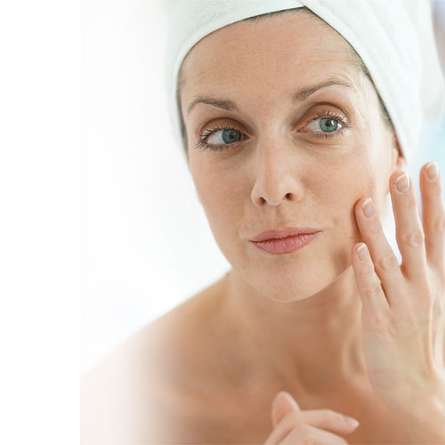 Menopause and skin care