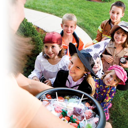 Celebrating Halloween without being afraid… of allergies!