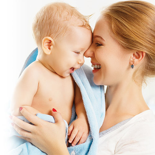 Les soins de la peau chez le bébé