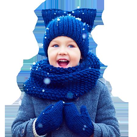 Quelques mythes sur la santé des enfants en hiver