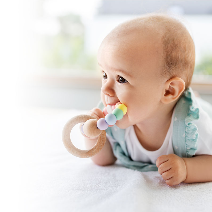Baby is teething—how can the pain be relieved?