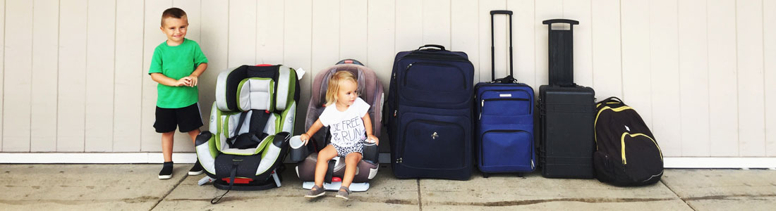 Healthy travel with children - Motion sickness