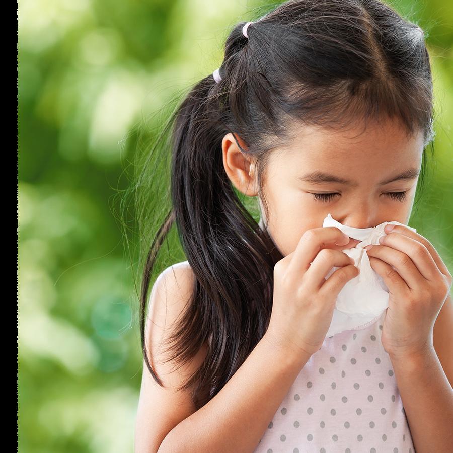 Le soulagement des allergies saisonnières chez l'enfant