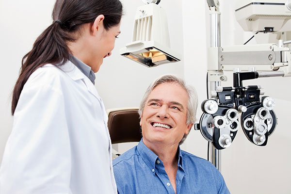 CONSULT AN EYE CARE SPECIALIST OR DOCTOR