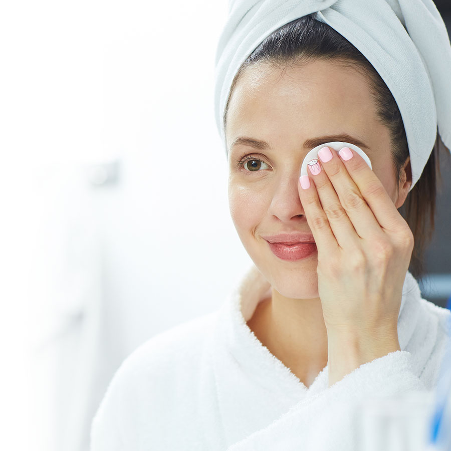 Sensitive skin should be pampered
