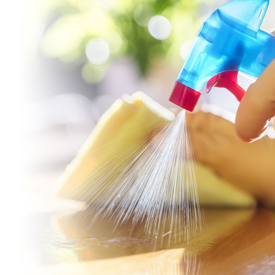 How can you effectively disinfect?