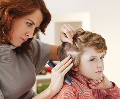 How to detect lice